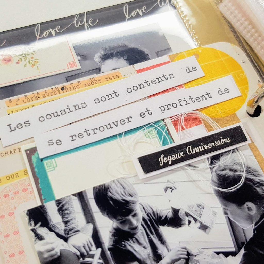 Project Life en français