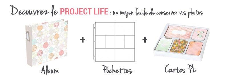 Présention du Project Life pour conserver ses photos facilement