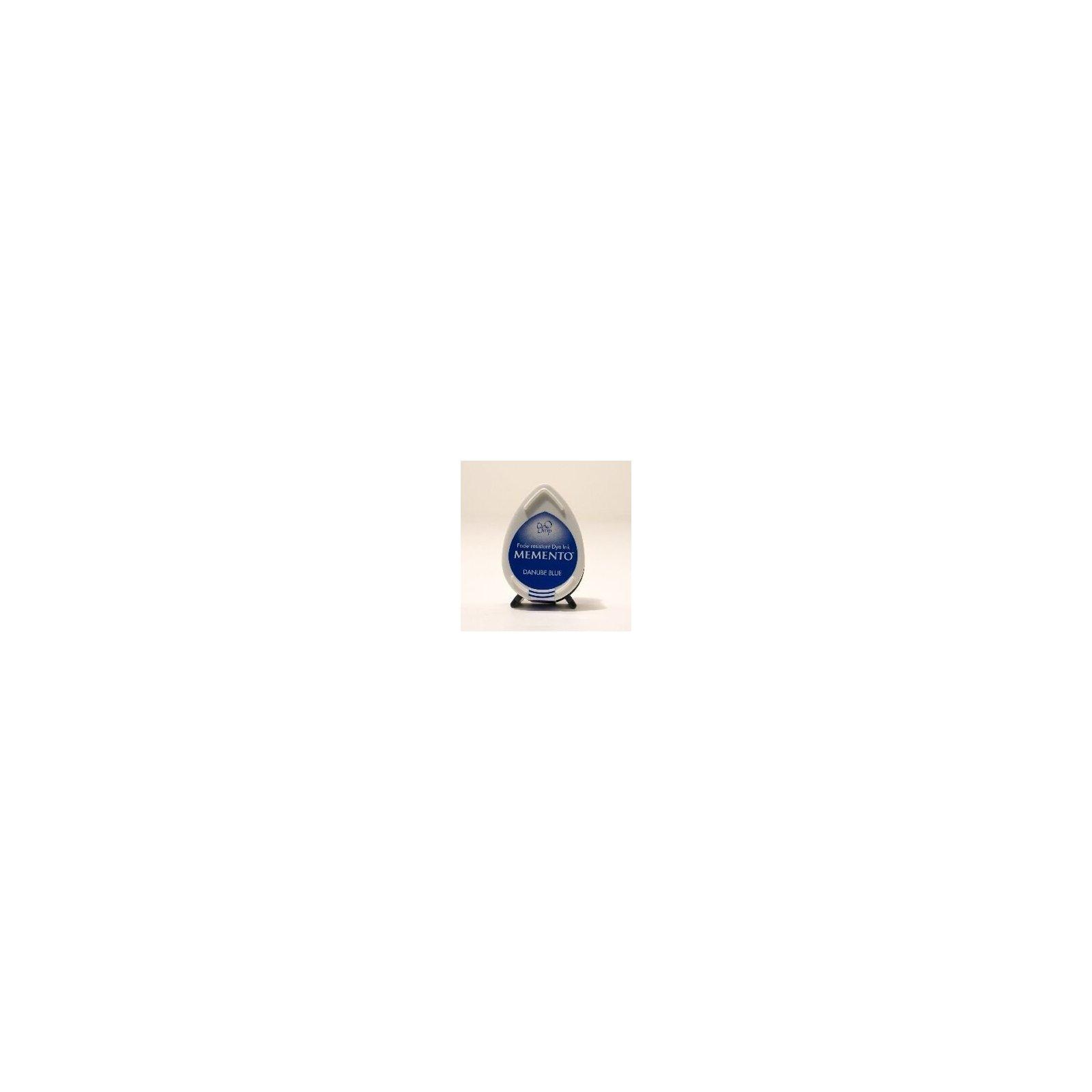 Mini encreur bleu Memento Dew Drop - Danube Blue - Tsukineko