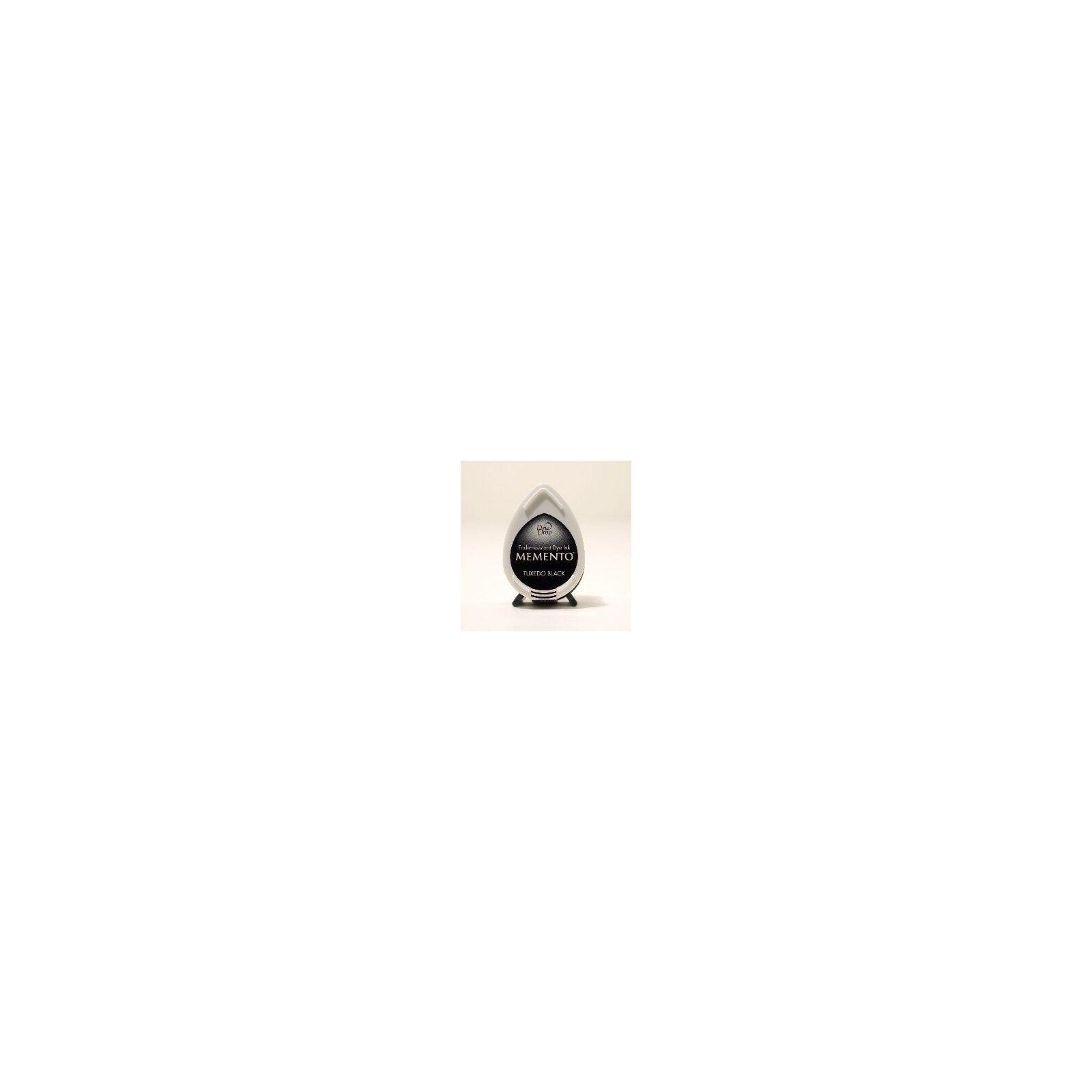 Mini encreur noir Memento Dew Drop - Tuxedo Black - Tsukineko