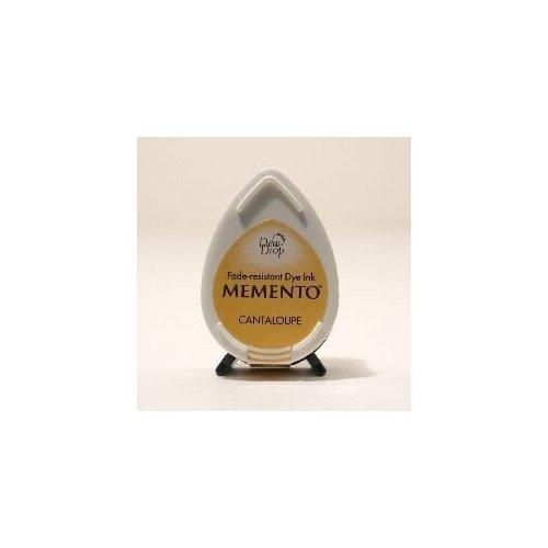 Mini encreur jaune Memento Dew Drop - Cantaloupe - Tsukineko