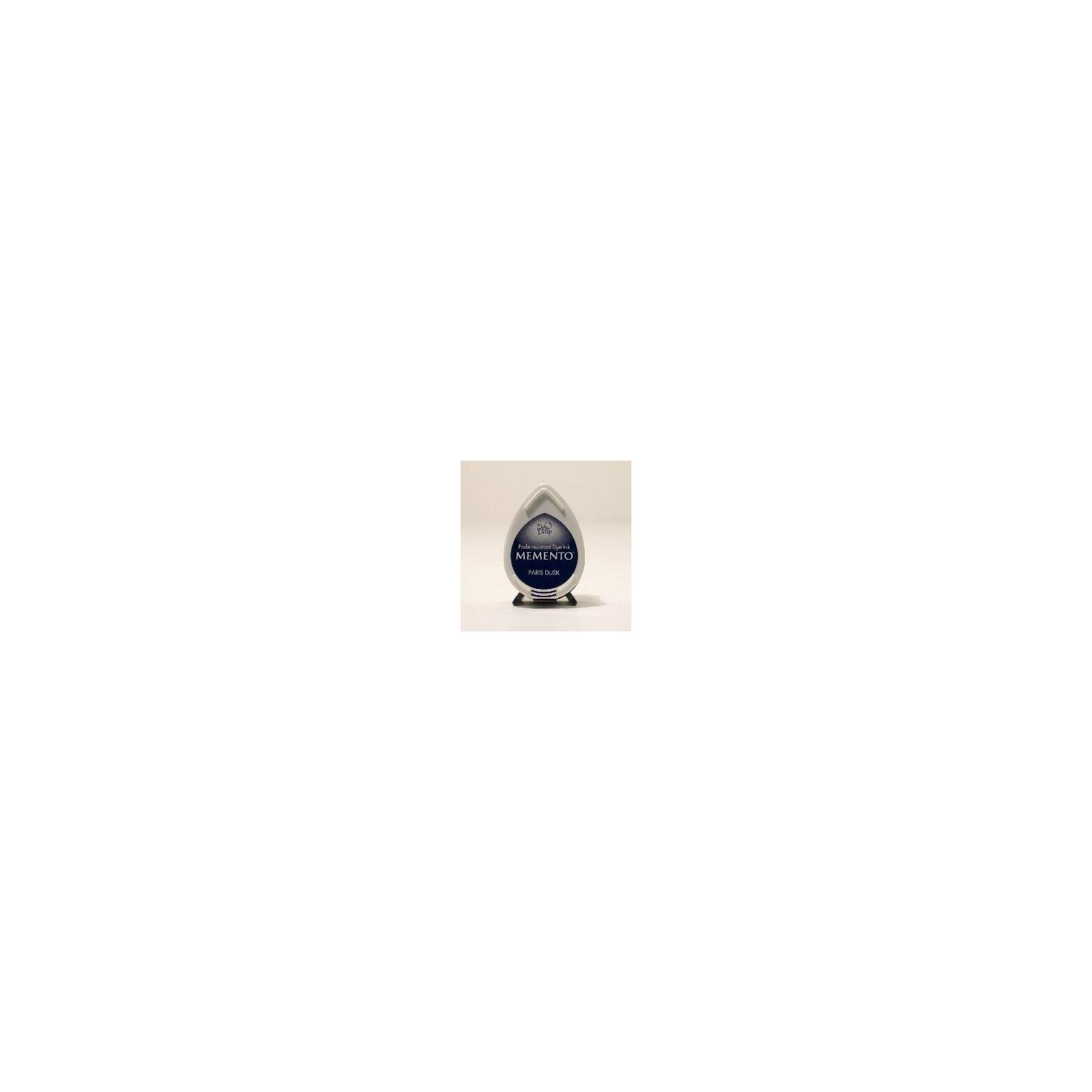 Mini encreur bleu marine Memento Dew Drop - Paris Dusk - Tsukineko