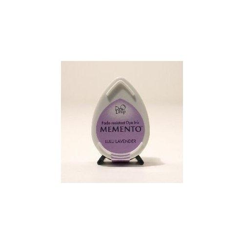 Mini encreur mauve Memento Dew Drop - Lulu Lavender - Tsukineko