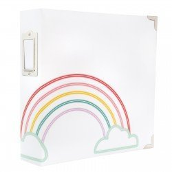 Album Rainbow - A4 américain - Storyline - Heidi Swapp