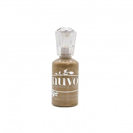 Nuvo Crystal Drops - Bronze - Metallic Dirty Bronze - Tonic Studio
