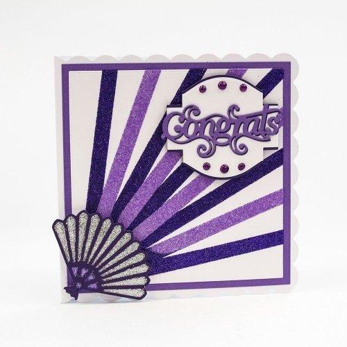 Nuvo Glitter Drops - Violet pailleté - Purple rain - Tonic Studio