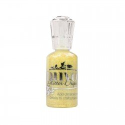 Nuvo Glitter Drops - Jaune pailleté - Yellow Bird - Tonic Studio