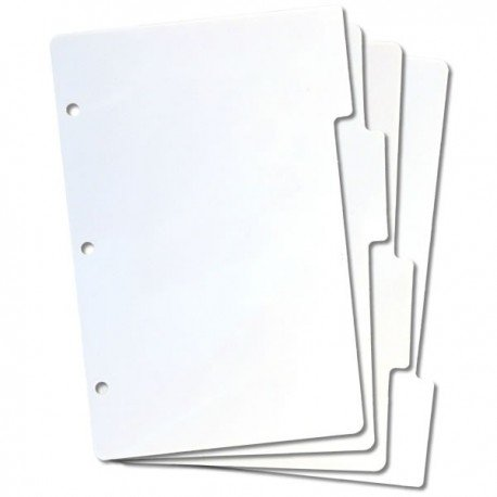 Lot de 4 intercalaires pour ranger les tampons clear - EZMount Mini Tabbed Storage Panels - Crafter's Companion