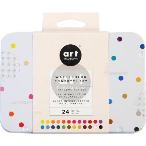 Assortiment d'aquarelles - Confetti Set - Prima Marketing