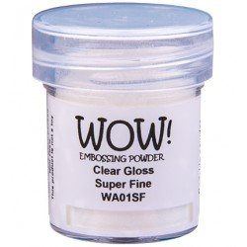 Poudre à embosser - Clear Gloss - Super Fine - WOW!
