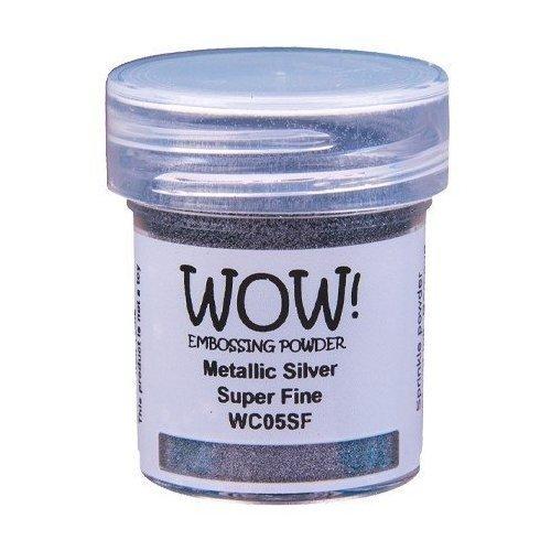 Poudre à embosser - Metallic Silver - Super Fine - WOW!