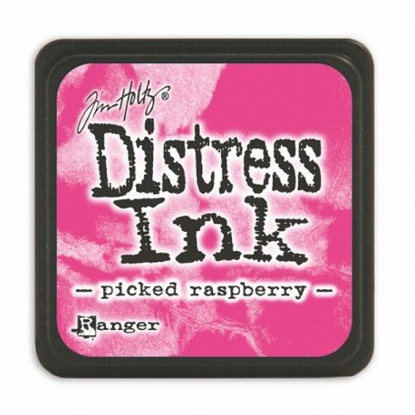 Mini encreur rose Distress - Picked Raspberry - Ranger