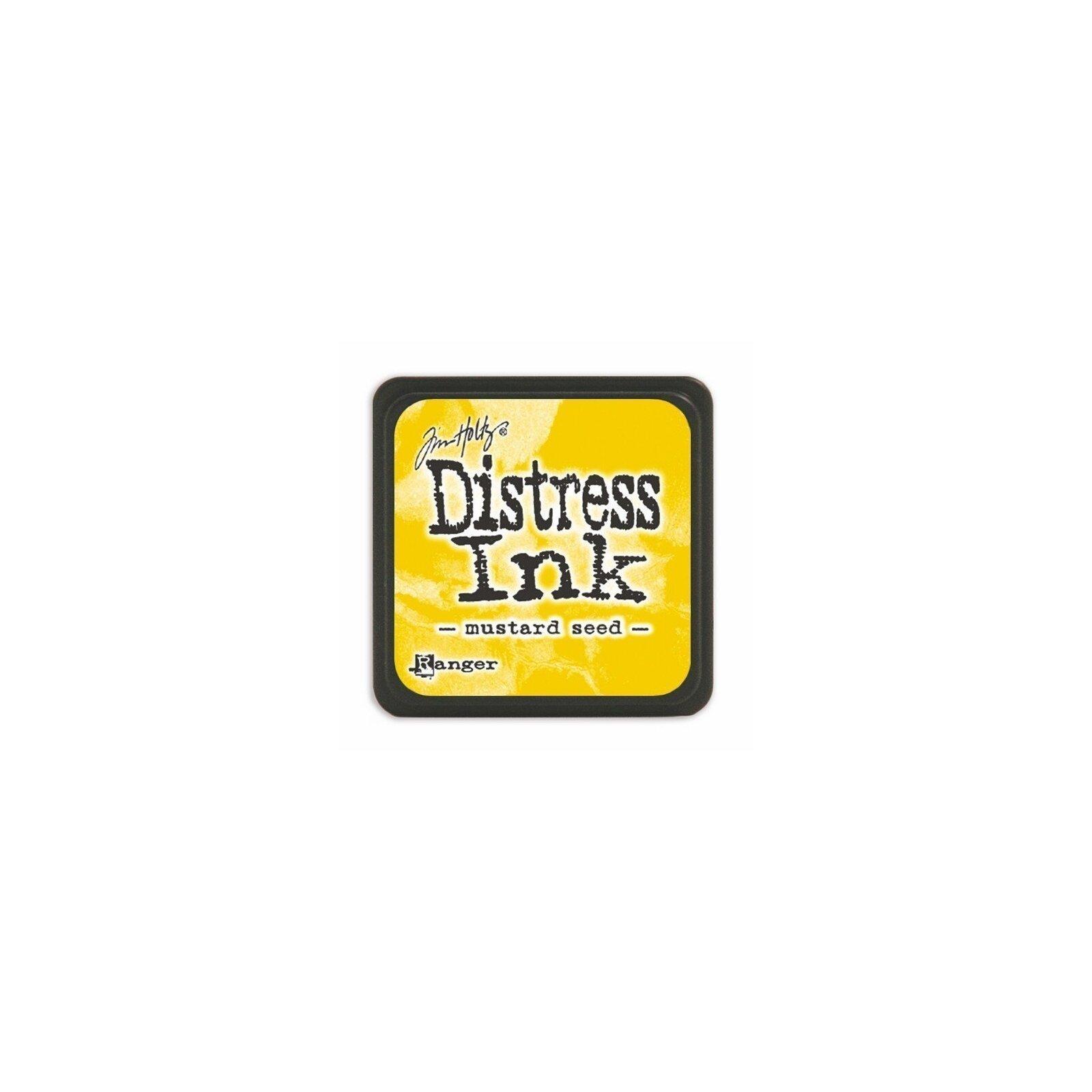 Mini encreur jaune Distress - Mustard Seed - Ranger