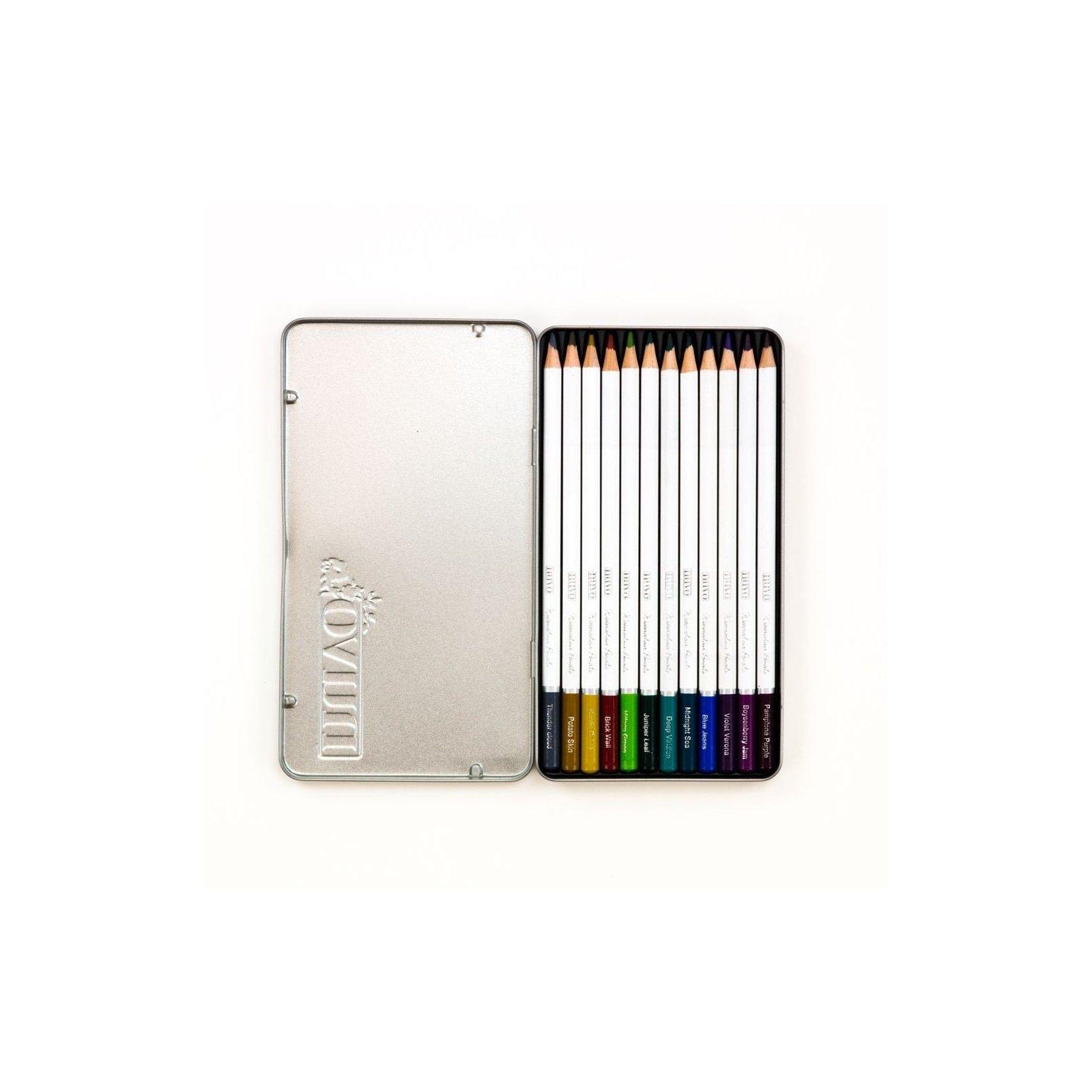 Palette de 12 crayons aquarellables - Dark Shadows - Tonic Studio