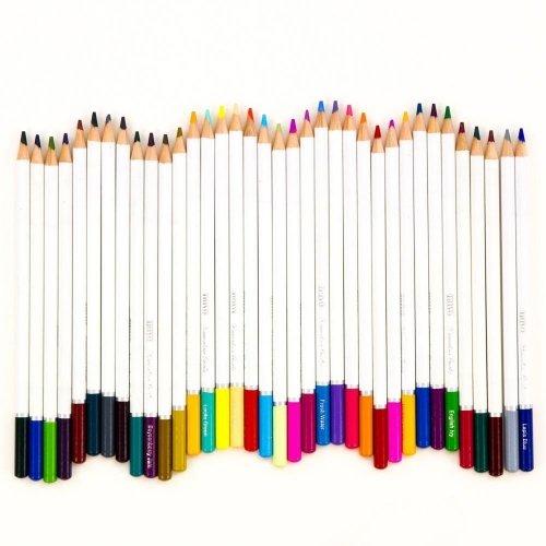 Palette de 12 crayons aquarellables - Pastel Highlights - Tonic Studio