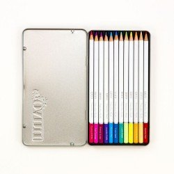 Palette de 12 crayons aquarellables - Pastel Highlights - Tonic Studio