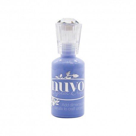 Nuvo Crystal Drops - Bleu - Berry Blue - Tonic Studio