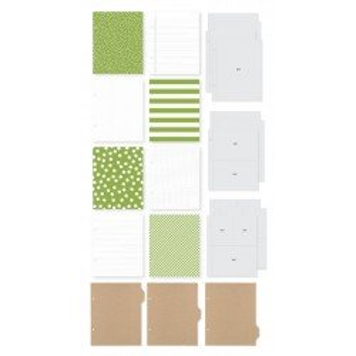 Album SN@P! Kraft et vert - 15x20 - Simple Stories