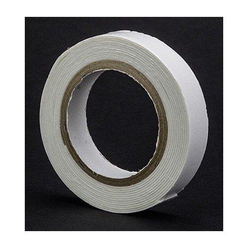 Rouleau de mousse double face - 12 mm - 0,5 mm épaisseur - Blanc