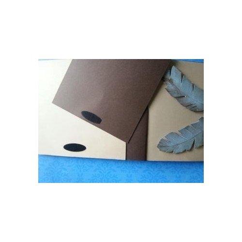 Lot de 5 paires de pastilles noires velcro adhésives - Lilly Pot'Colle