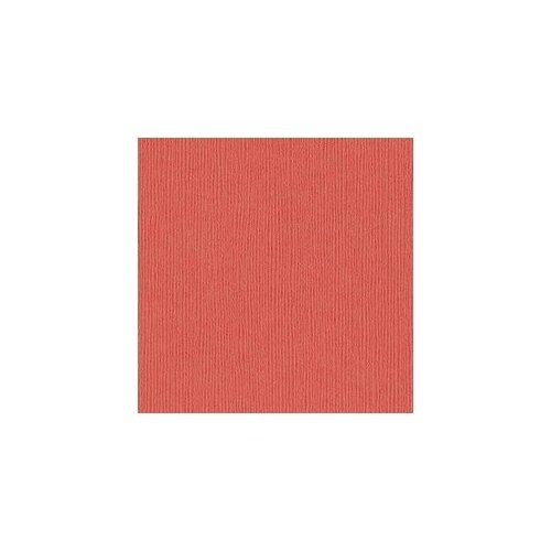 Papier rose / pêche - Arroyo - Fourz - Bazzill Basics Paper