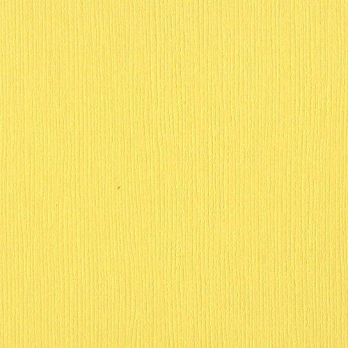 Papier jaune - Pollen - Fourz - Bazzill Basics Paper
