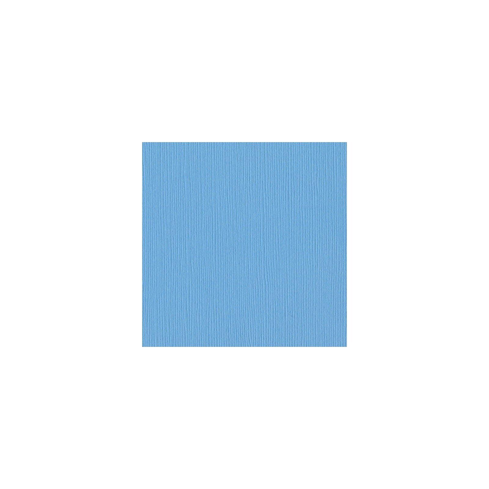 Papier bleu ciel - Vibrant blue - Bleu vibrant - Fourz - Bazzill Basics Paper