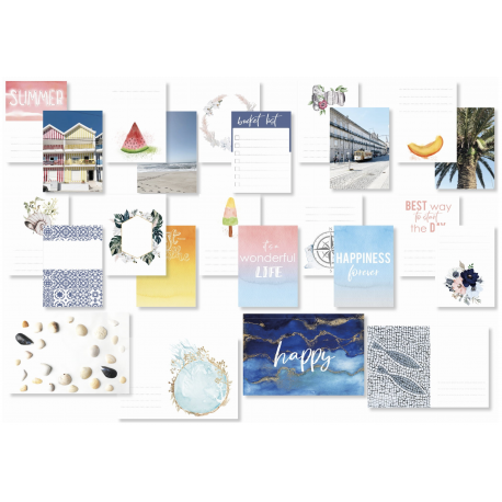 Cartes Project Life - Bom Dia - Studio Forty