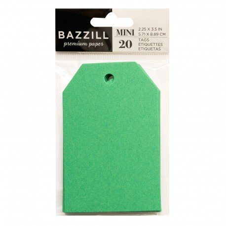 Tags - Green Apple - Bazzill
