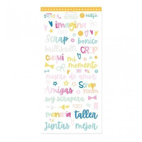 Stickers Puffy - Imagine - Mintopia
