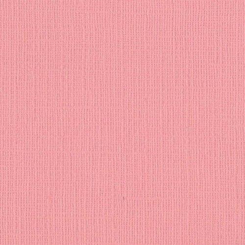 Papier rose bonbon - Blossom - Mono - Bazzil Basics Paper