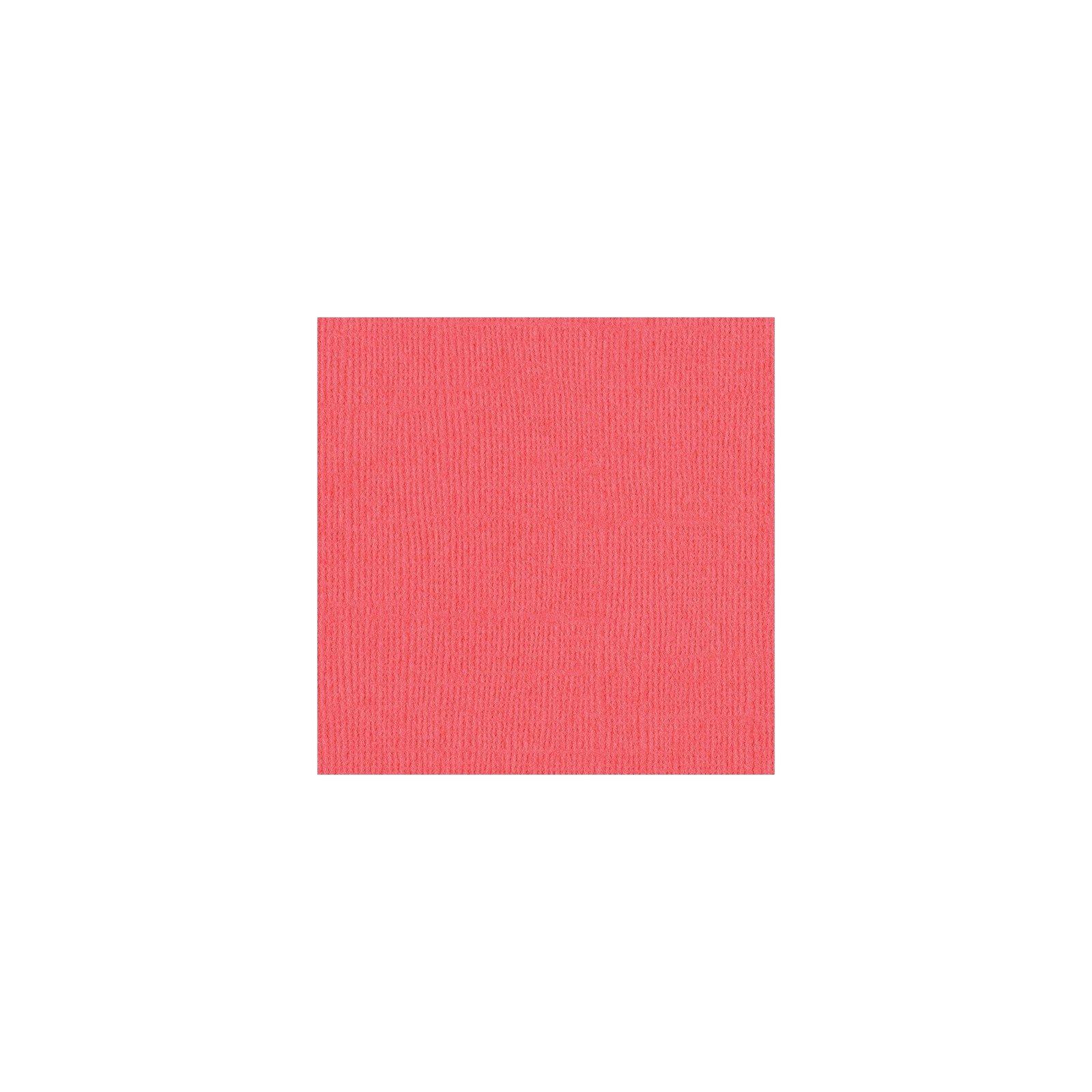 Papier rose - Roselle - Mono - Bazzil Basics Paper