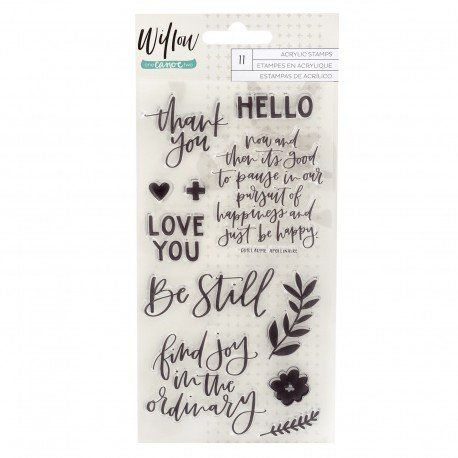 Tampon transparent - Willow - One Cano Two