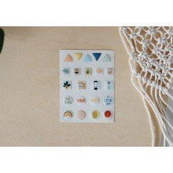 Enamel dots - Formes - Cozy Time - Studio Forty