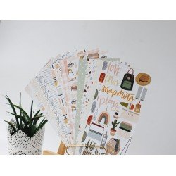 Assortiment de papiers pour Traveler's Noebook - Cozy Time - Studio Forty