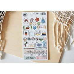 Chipboards Stickers - Cozy Time - Studio Forty