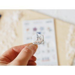 Chipboards Stickers - Nordica - Studio Forty