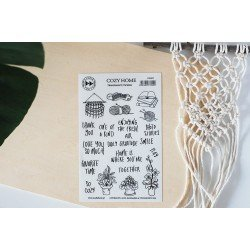 Stickers transparents - Cozy Home - Cozy Time - Studio Forty