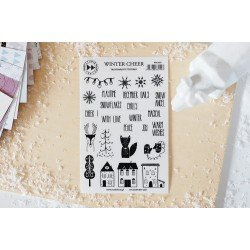 Stickers transparents - Winter Cheer - Nordica - Studio Forty