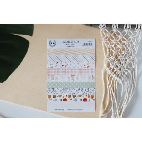 Stickers - Bandes de washi tape - Cozy Time - Studio Forty