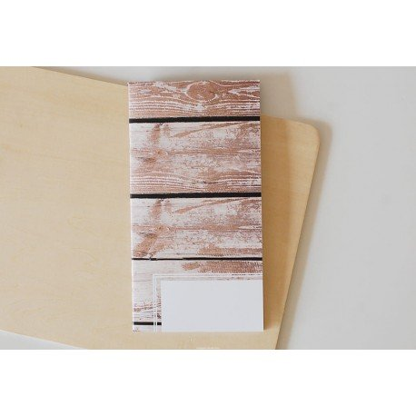 Notebook - Wood - Cozy Time - Studio Forty