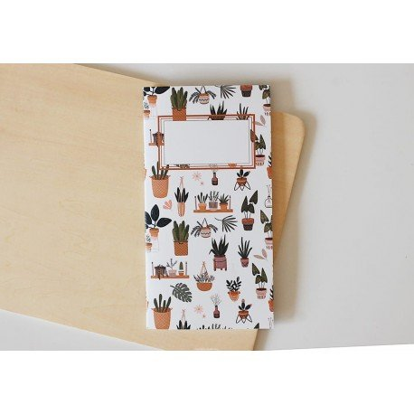 Notebook - Plants - Cozy Time - Studio Forty