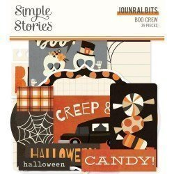 Die-cuts - Journaling - Boo Crew - Simple Stories
