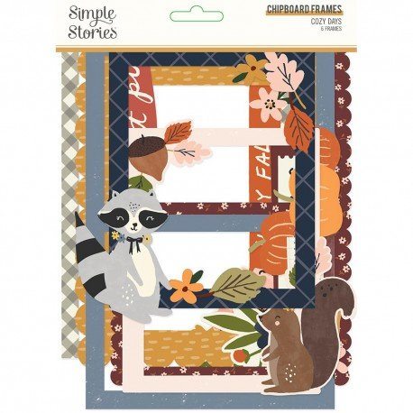 Chipboards Cadres - Cozy Days - Simple Stories