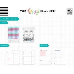 Extension Classic Happy Planner - 6 mois - Dashboard - Me & My Big Ideas