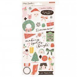 Stickers - Hey Santa - Crate Paper