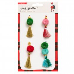 Pompons - Hey Santa - Crate Paper