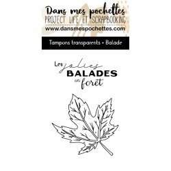 Tampon clear - Balade - Dans mes pochettes