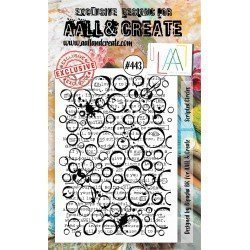 Tampon transparent - Scripted Circles - n°443 - AALL & Create