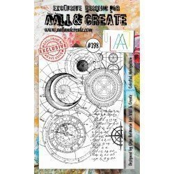 Tampon transparent - Celestial Navigation - n°398 - AALL & Create
